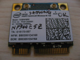 Placa wireless Samsung NP300E5Z, Intel Centrino Wireless-N 130, 130BNHMW