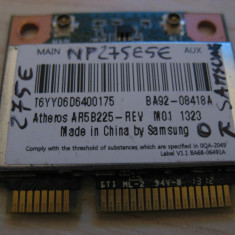 Placa wireless Samsung 275E NP275E5E, AR5B225, BA92-08418A