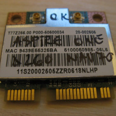 Placa wireless Acer Aspire One D260 NAV70, T77Z266.00, BCM94313HMG2L