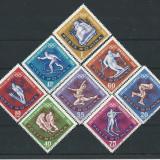 1963 Romania LP 571- J.O. Innsbruck (dantelate)-MNH, Sport, Nestampilat
