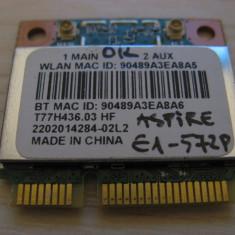 Placa wireless Acer Aspire E1-572P, QCWB335, T77H436.03 HF