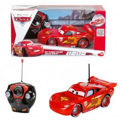 Masina Cars - Fulger McQueen cu telecomanda 17 cm 3089501 Dickie