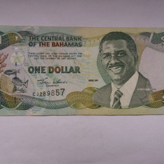 Bahamas 1 dollar 2000 - bancnota america