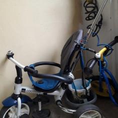 Tricicleta Cocolle Urbio Pliabila Albastra - Tricicleta copii Coccolle