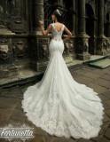 Rochie mireasa Giulietta Bridal model sirena colectie 2018, Rose, 36