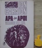 Apa de apoi Versuri din exil Ion Caraion