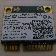 Placa wireless Samsung 300V NP300V3A, Intel Centrino Wireless-N 130, 130BNHMW