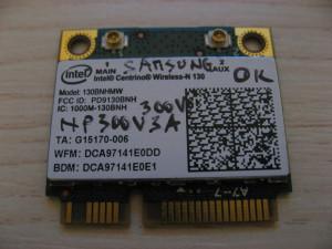 Placa wireless Samsung 300V NP300V3A, Intel Centrino Wireless-N 130, 130BNHMW