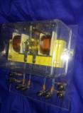 Bobina electrica-electromagnet de uz didactic,componente electronice vechi,T.GRA