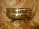 Jardiniera, vas alama bronz, Baroc Victorian, sec 19, colectie/cadou