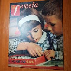 Revista femeia septembrie 1976-nadia comaneci premiata de ceausescu