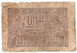 ROMANIA 1 LEU 1938 U