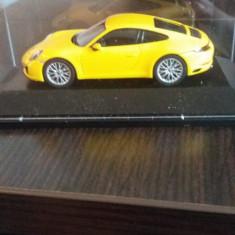 Macheta porsche 911 ( 991 ) carrera 4s coupe - herpa, scara 1/43. - Macheta auto