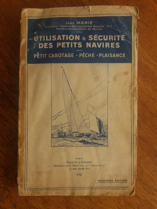 Carte despre nave si navigatie 1948 /  R2P2S