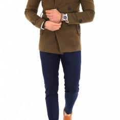 Palton pentru barbati, maro - LICHIDARE DE STOC - 9687 - Palton barbati, Marime: S, M, L, XL, XXL, Culoare: Din imagine