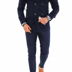 Palton pentru barbati, bleumarin - LICHIDARE DE STOC - 9696 - Palton barbati, Marime: S, M, L, XL, XXL, Culoare: Din imagine