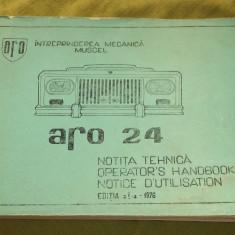 Notita tehnica Aro 24 editia a II-a 1976