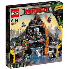 LEGO Ninjago - Vizuina din vulcan a lui Garmadon 70631