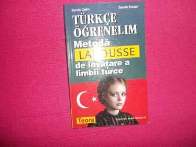 Metoda Larouse de invatare a limbii turce foto