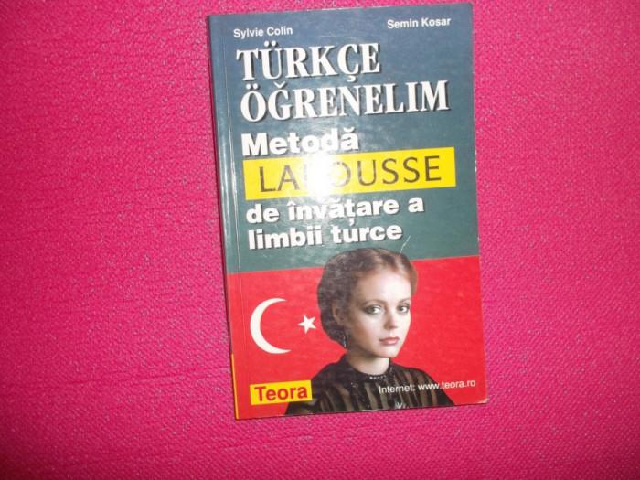 Metoda Larouse de invatare a limbii turce foto mare