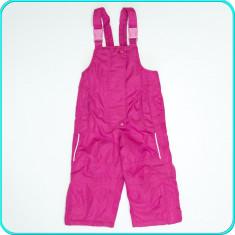 Pantaloni—salopeta iarna, impermeabili, IMPIDIMPI → fete | 9—12 luni | 74—80 cm, Marime: Alta, Culoare: Roz