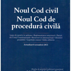 Noul Cod civil - Noul Cod de procedura civila - Autor(i): Gabriel - Carte Drept administrativ