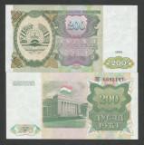 TADJIKISTAN   200  RUBLE  1994   UNC   [1]   P-7  ,   necirculata