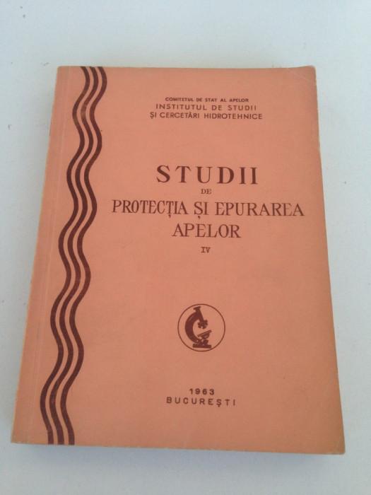 Studii de protectia si epurarea apelor, vol. IV/1963 foto mare