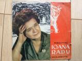 "ioana radu recital de romante disc vinyl 10"" muzica populara EPD 1064 predescu"