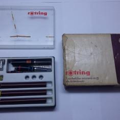 Set desen tehnic Rotring anii 70 - Instrumente desen