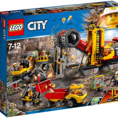 LEGO City - Mining Amplasamentul minerilor experti 60188