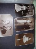 Album foto mare cu fotografii familie,pionieri,elevi,militari,port national,T.GR
