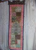 carpeta Antica Istorica Handmade Kashmar Persană,placa lemn sculptata,Tapiterie