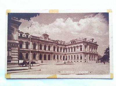 BACAU-PALATUL ADMINISTRATIV-CARTE POSTALA ANII 40- foto