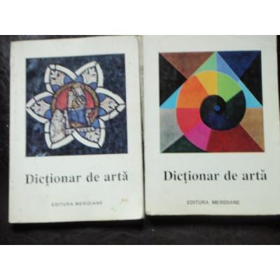 Dictionar de arta (2 volume) 1995/516p foto