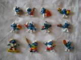 Strumfi, smurfs - Set 12 figurine cauciuc - Schleich, Bullyland, Peyo
