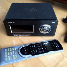 Media Player HD TviX M6500A-HDD 1TB+telecomanda Logitech Harmony 525