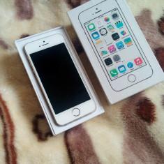 iPhone 5S Apple 32 gb gold, Auriu, Neblocat