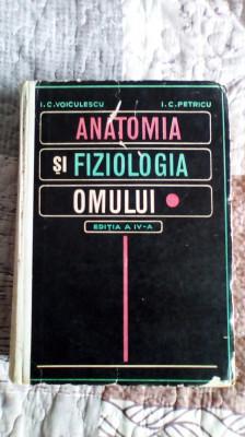 Anatomia si fiziologia omului - I.C. Voiculescu, I.C. Petricu foto