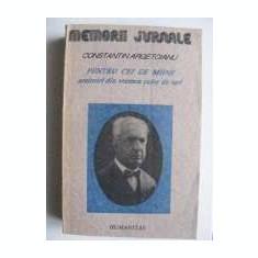 Constantin Argetoianu Memorii Jurnale# - Istorie