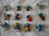 Strumfi, smurfs - Set 12 figurine cauciuc si plastic - Schleich, Bullyland, Peyo