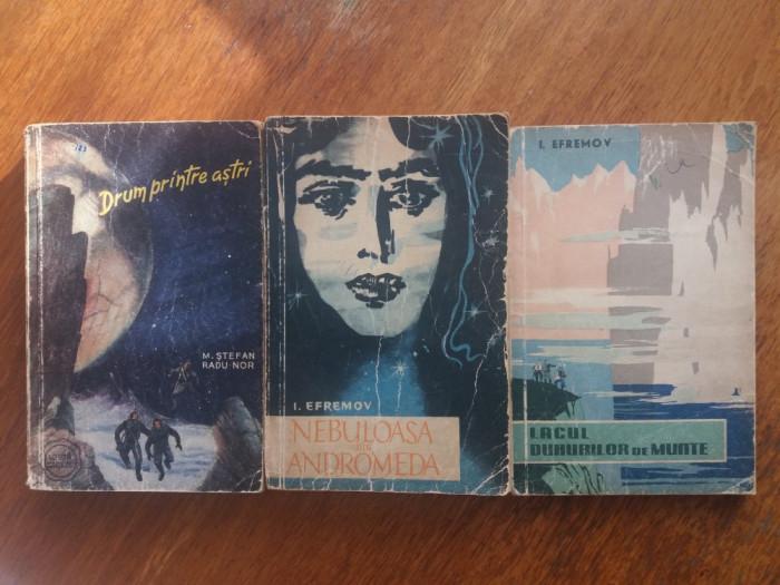 Lot 5 carti SF editura Tineretului  /  R2P2S