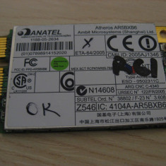 Placa wireless Lenovo ThinkPad R61, Atheros AR5BXB6, T60H921.05, 39T5578, G41598