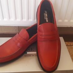 Pantofi - Pantofi barbat Selected, Marime: 41, Culoare: Rosu