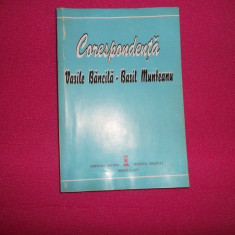 Corespondenta Vasile Bancila-basil Munteanu , 1997