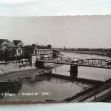 LUGOJ-PODUL DE FIER-CARTE POSTALA ANII 40 - Carte postala tematica, Circulata, Fotografie