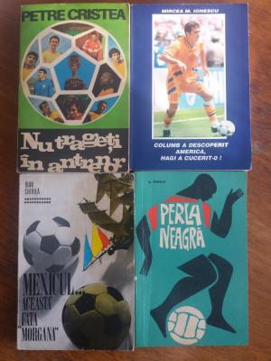 Lot 7 carti despre fotbal / Chirila, Braun, Mihalache, Cristea /  R2P2S foto