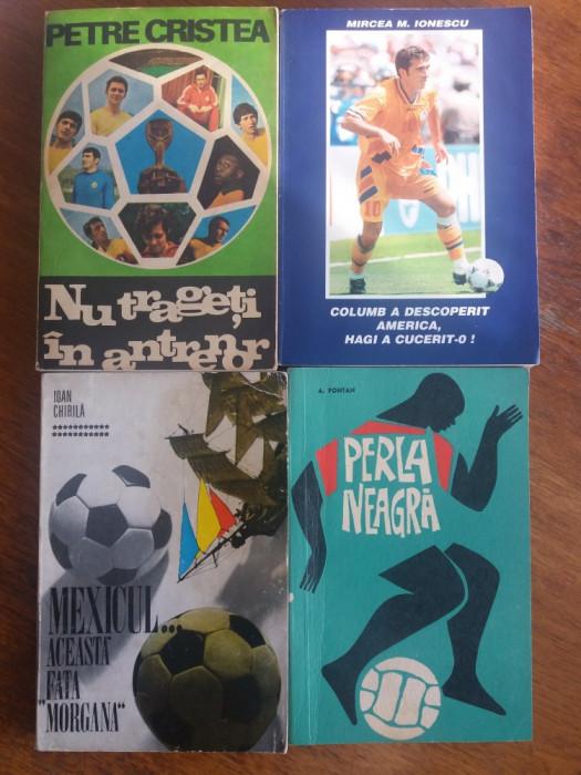 Lot 7 carti despre fotbal / Chirila, Braun, Mihalache, Cristea /  R2P2S foto mare