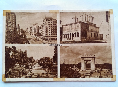BUCURESTI-CARTE POSTALA ANII 40 foto
