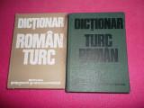 Dictionar roman - turc turc - roman